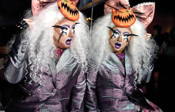 San Francisco drag performer Nitrix Oxide is part of the national Drag Out the Vote initiative.