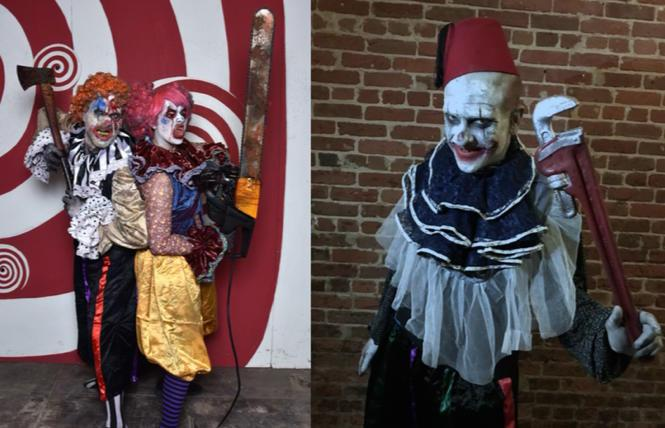 Creepy clowns deliver 'Screaming Telegrams'