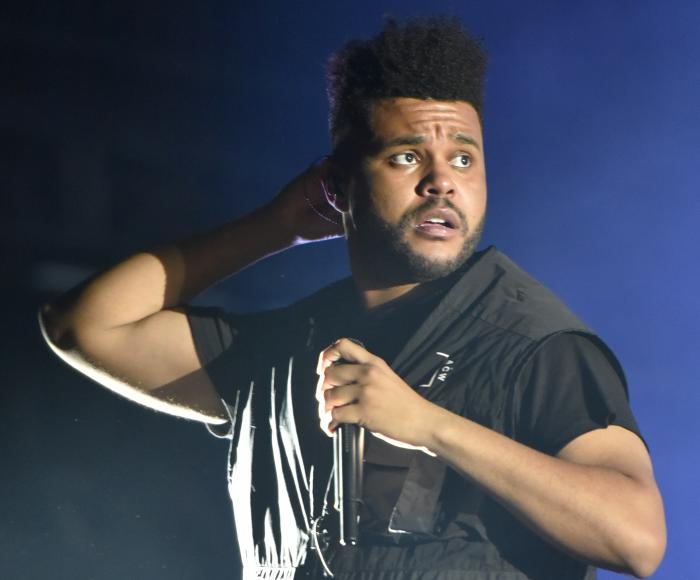 The Weeknd performs on day three at Lollapalooza in Chicago.