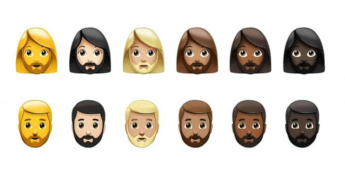 Some of the new Apple emojis