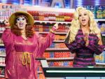 Watch: Drag Superstars Jackie Beat & Sherry Vine Tear Up 'Supermarket Sweep' as 'Team Makeup'