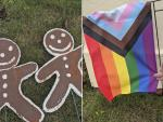 Police Investigating Hate Crime Vandalization of Gay Couple's Christmas Decorations