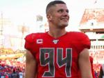 Sports Figures, Celebrities Show Their Love for Carl Nassib